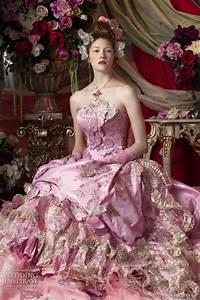 color wedding dresses by stella de libero wedding inspirasi With pink and gold wedding dress
