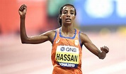 Sifan Hassan storms to world 10,000m title in Doha - AW