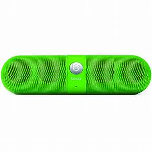 Beats By Dre Beats Pill Neon Green Wireless Speakers at