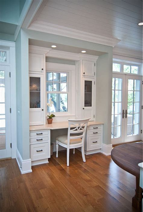 Kitchen With Desk Area by Built In Kitchen Desk Area Ideas