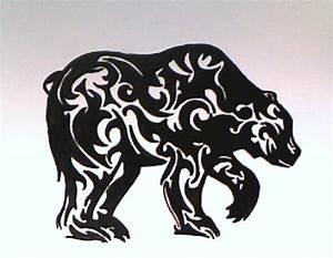 Tribal Bear by scarlet-trigger on DeviantArt