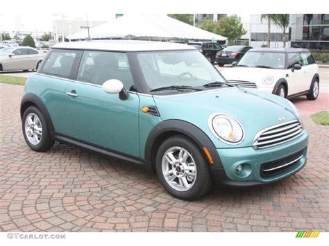 mint green mini cooper   car reviews