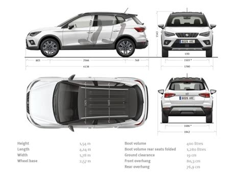 exterior led lighting for the seat arona exterior