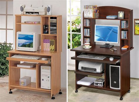 Narrow Computer Desk With Shelves by Corner Computer Desk With Shelves Foter Inside Plans 4
