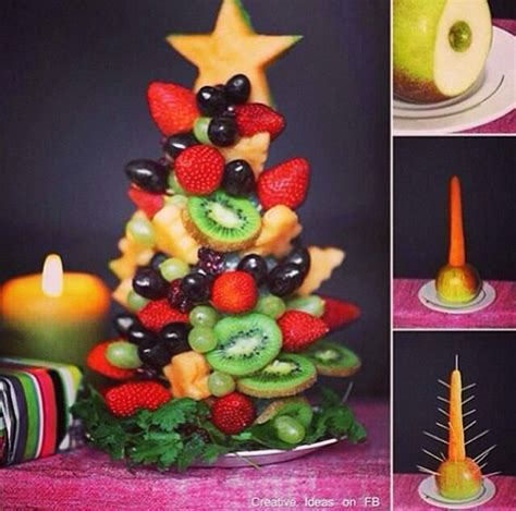 christmas snacks ideas cute healthy christmas snack nomnomnom pinterest