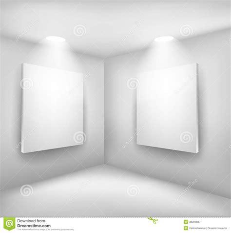 chambre du vide vues dans la chambre vide illustration de vecteur image