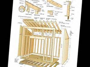free shed plans woodworking plans pdf s download youtube