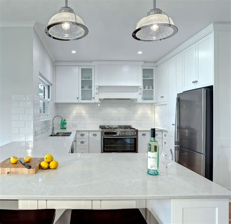 white kitchen transformation contemporary kitchen