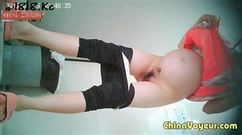 Asian Pregnant Toilet Voyeur