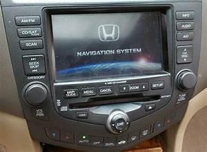 2004 2005 Honda Accord Sedan 6 Disc Navigation Gps Cd