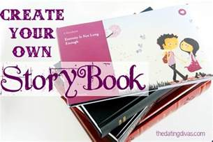design your own create your own storybook