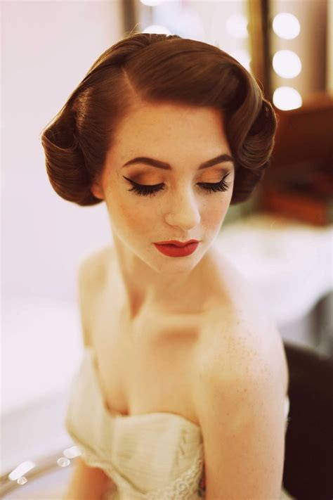 Modern Hairstyles For 50s by 25 Best Ideas About 1950 Makeup On 50s Makeup