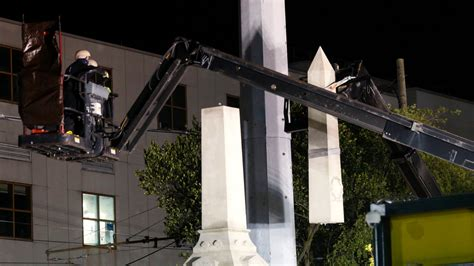New Orleans Begins Removing Confederate Monuments, Under