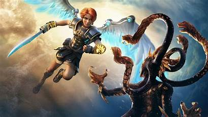 Fenyx Rising 4k Immortals Gods Monsters Games