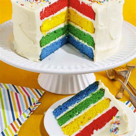recettes cuisine et vins de gâteau multicolore ricardo