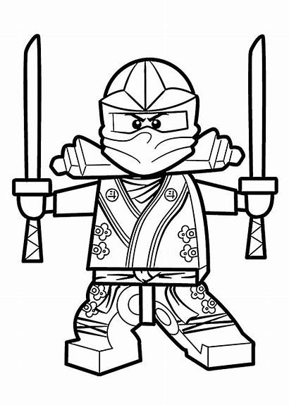 Lego Coloring Pages Ninjago