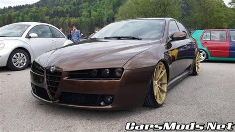 alfa romeo 159 tuning alfa romeo 159 stance tuning cars mods