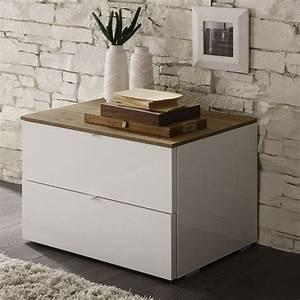 Table De Chevet Wengé : table de chevet contemporaine ~ Nature-et-papiers.com Idées de Décoration