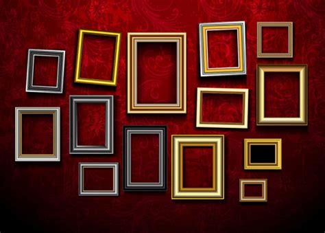 design vintage photo frames vector vector