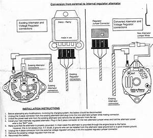 C2 Wiring Diagram  Instructions Needed For 65 327alternator With Internal Regulator