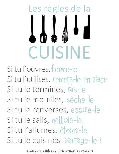 regle cuisine les bons réflexes à adopter pour une cuisine impeccable