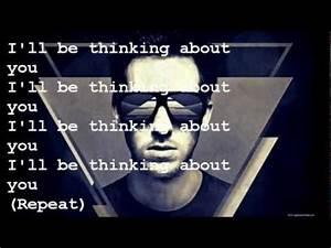 Calvin Harris Thinking About You (Lyrics) - YouTube