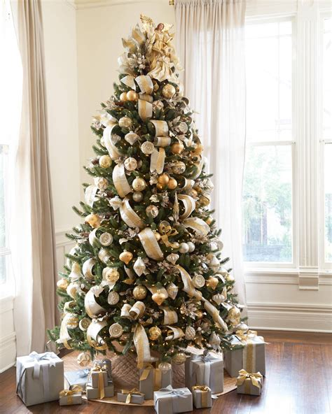 white lighted christmas trees vermont white spruce tree balsam hill 5528