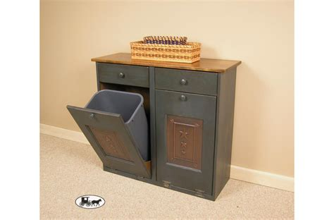 double trash can cabinet double garbage can cabinet roselawnlutheran