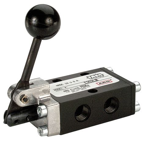 Aro Manual Air Control Valve With Way Position