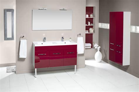 meuble de salle de bain prefixe portes aquarine