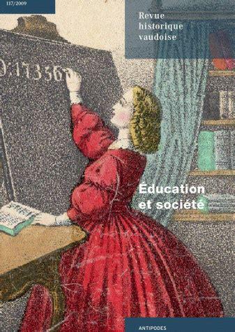 revue historique vaudoise  education