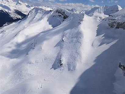 Avalanche Yoho Canada Canadian Rockies Powder Gripped
