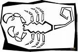 Scorpion Coloring Pages Printable Block Gummy Bear Para Dibujos Dibujar Grabados Animal Sheet Clip Cliparts Drawing Puzzle Dot Desert Clipart sketch template