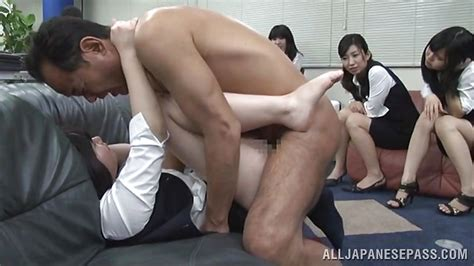 Bitch Gets Banged In The Office Hd From All Japanese Pass Public Sex Japan