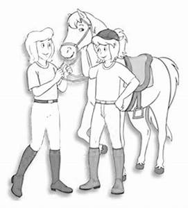 Ausmalbilder, Bibi, Und, Tina, Pferde