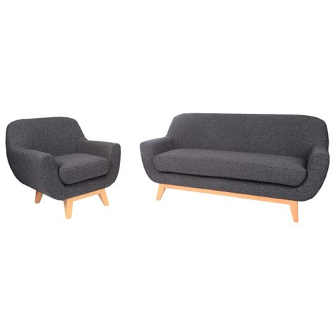 canap 233 scandinave 2 places lohja anthracite m 235 ja trendy homes