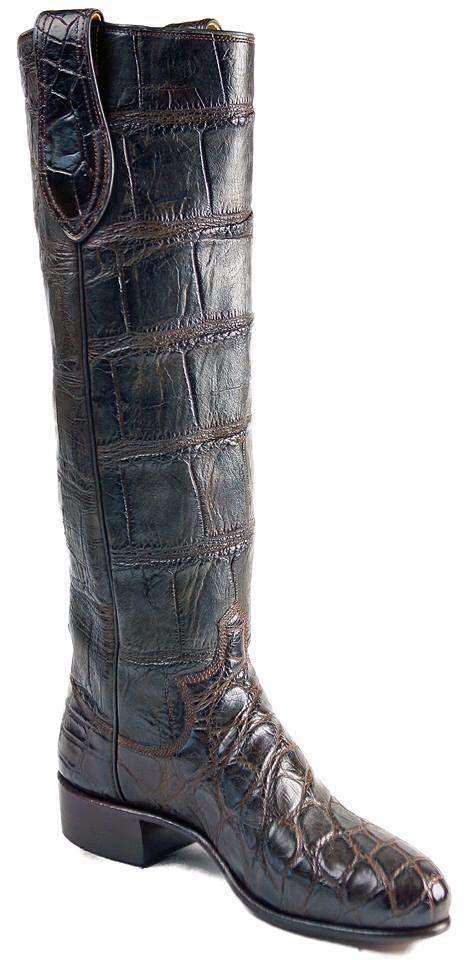 Paul Bond Custom Boots Alligator Skin
