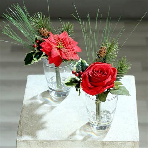 dekorieren mit kunstblumen blumen f 252 r weihnachten kunstblumen dpi bei deko mich