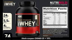 Top 10 Whey Protein 2017