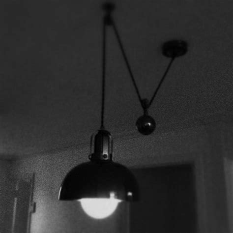 pulley pendant light basement and kitchen remodel