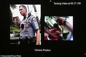 White police officer charged in fatal shooting of black ...