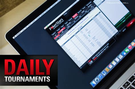 Check Out The Pokerstars New Jersey Daily Tournament