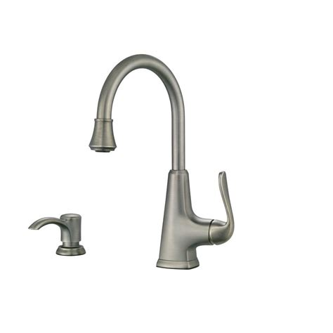 kitchen sink plumbing bar sink faucets brushed nickel 6553