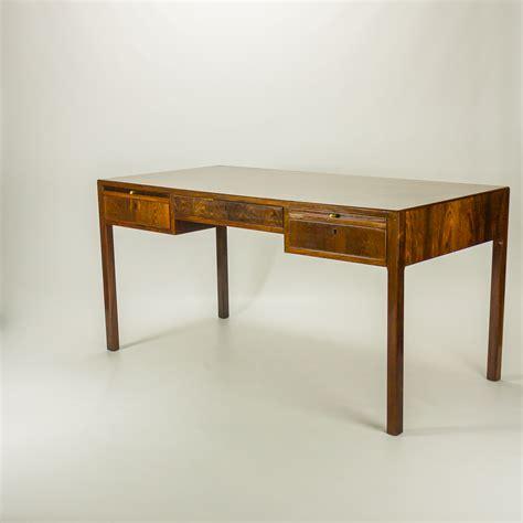 bureau design vintage 50 s ole wanscher palissander deens bureau barbmama