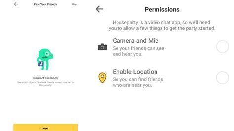 houseparty app safe      permission