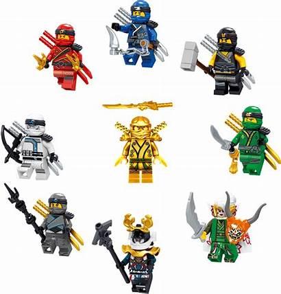 Ninjago Lego Kai Ninja Cole Minifigures Zane