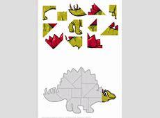 Dinosaur Puzzle Printable Printable 360 Degree