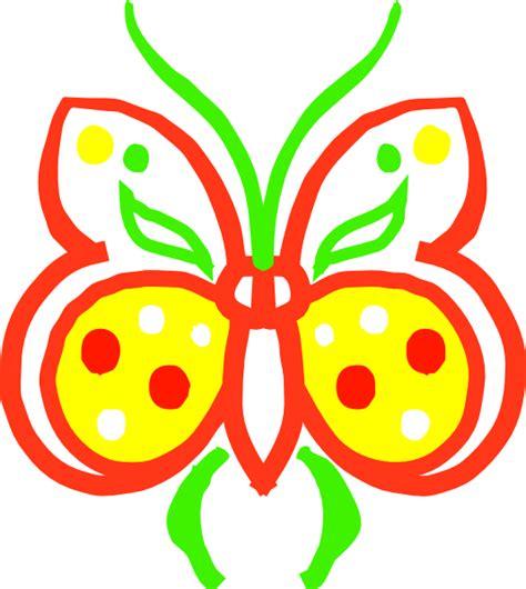 farfalle clipart farfalla stilizzata clip at clker vector clip