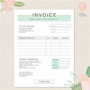 invoice template photography invoice business invoice With real estate photography invoice