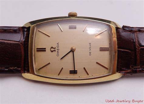 Omega De Ville Vintage Calibre 620 Gold Plated Mens Watch